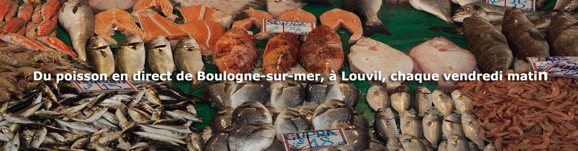 Poissonerie tous les vendredis