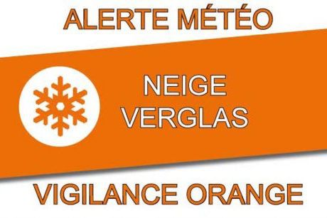 Vigilance Orange : Neige et Verglas